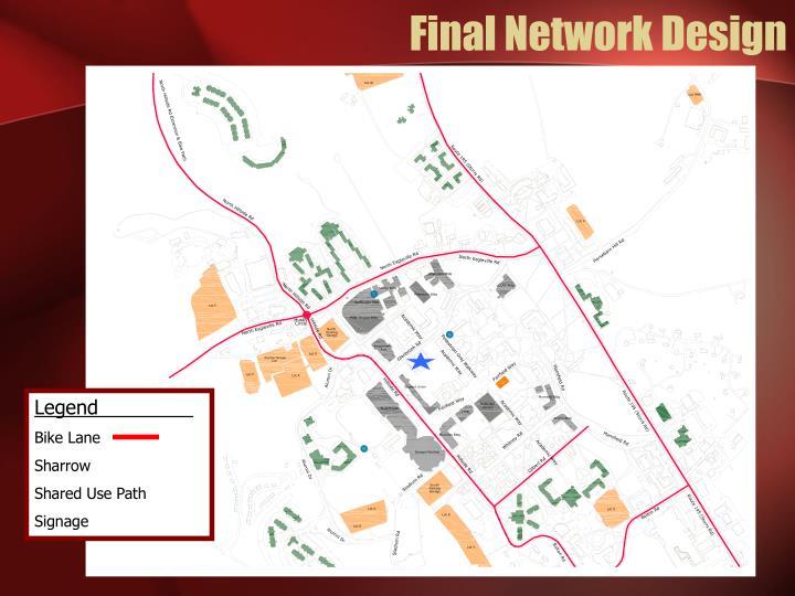 Final Network Design