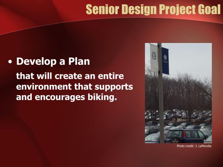 Senior Design Project Goal