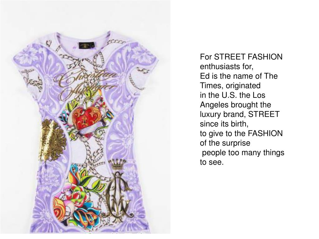 For STREET FASHION enthusiasts for,