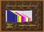 extensive and intensive rent