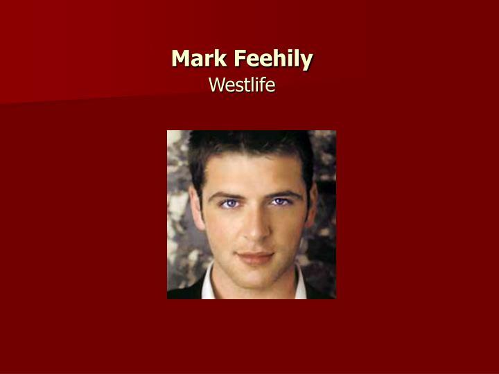 Mark Feehily