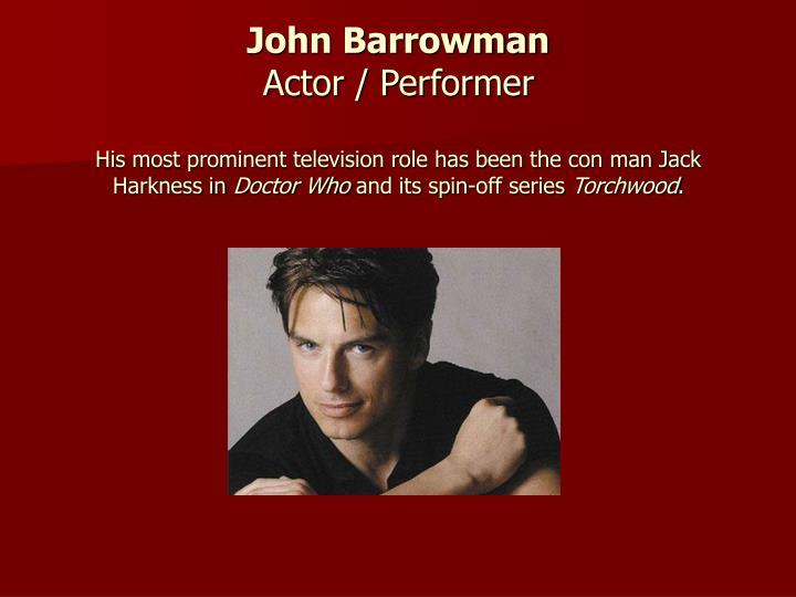 John Barrowman