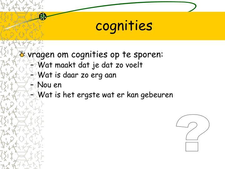 cognities