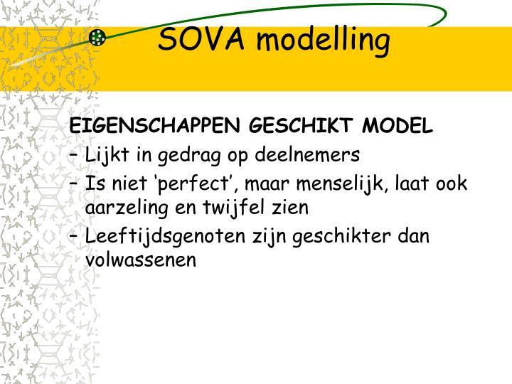 SOVA modelling