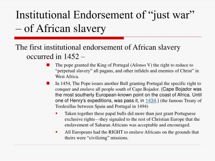 the conflict between the portuguese and spanish over africans for slavery Portuguese spanish independent state n institution of slavery in africa (b) why did european interest in how is the modern conflict between the hutu and tutsi.