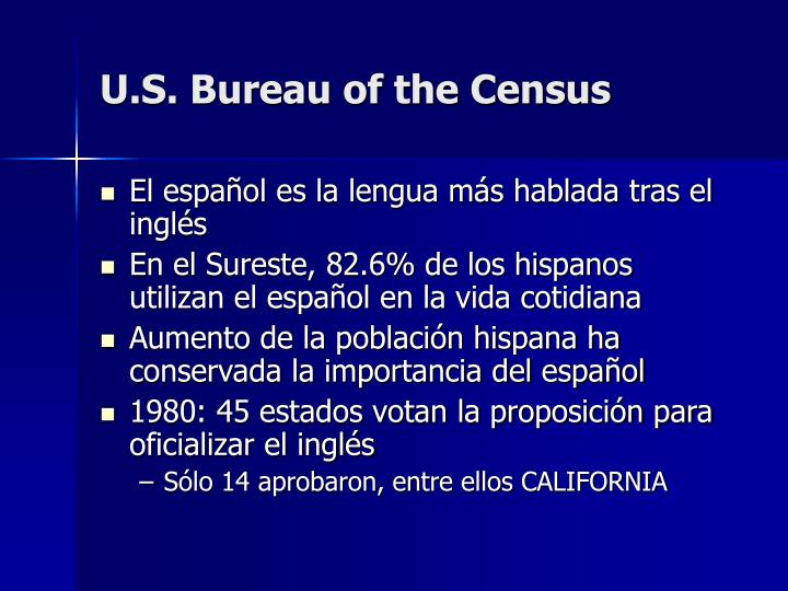 U.S. Bureau of the Census