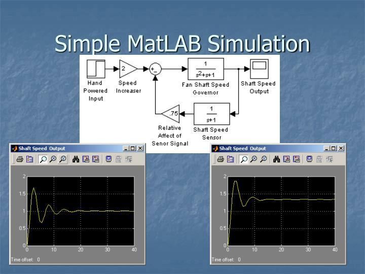 Simple MatLAB Simulation