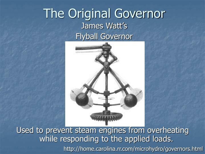 The Original Governor