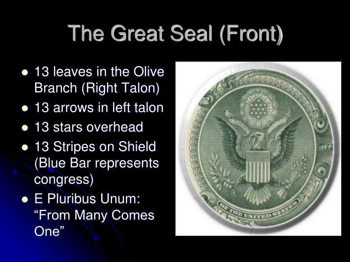 The Great Seal (Front)