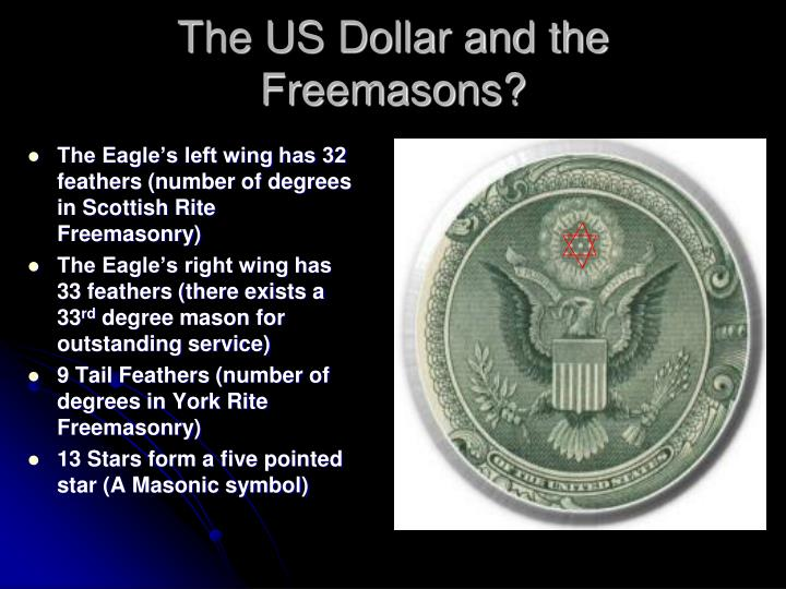 The US Dollar and the Freemasons?