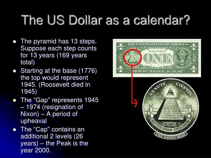 The US Dollar as a calendar?