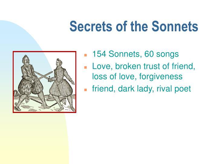 Secrets of the Sonnets