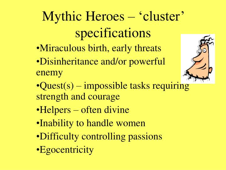 Mythic Heroes – 'cluster' specifications