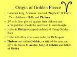 origin of golden fleece