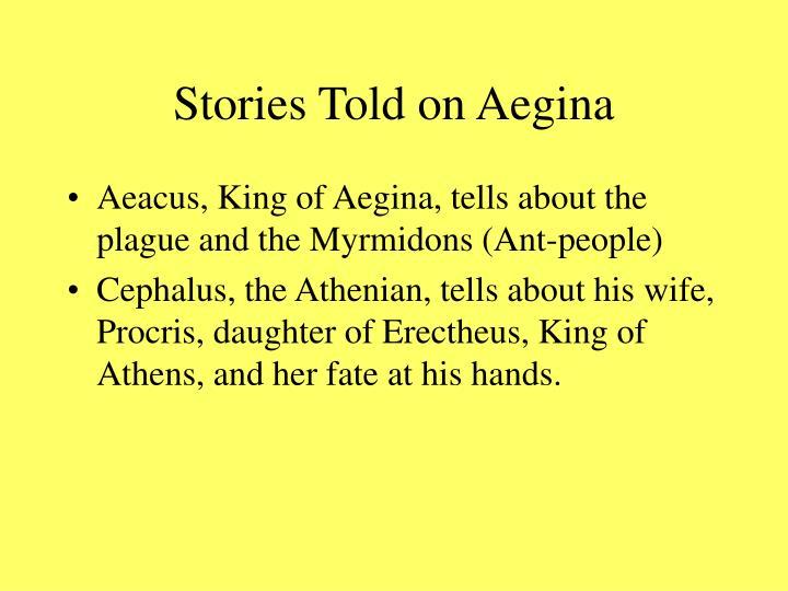 Stories Told on Aegina