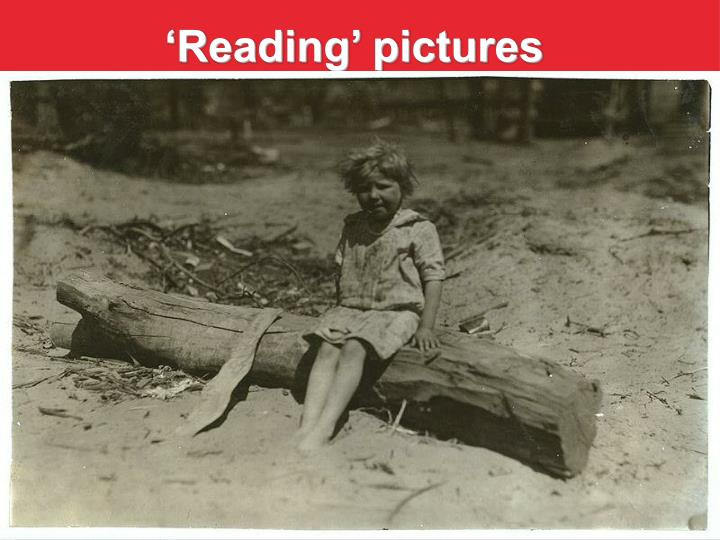 'Reading' pictures