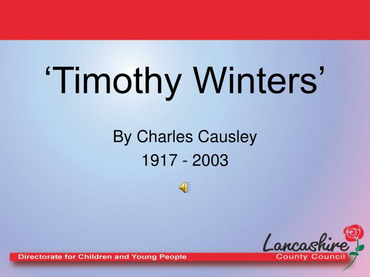 'Timothy Winters'
