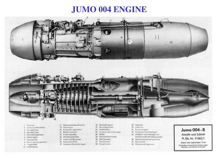 JUMO 004 ENGINE
