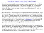 review operation of c d nozzles1