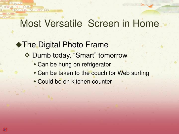 Most Versatile  Screen in Home