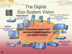 the digital eco system vision