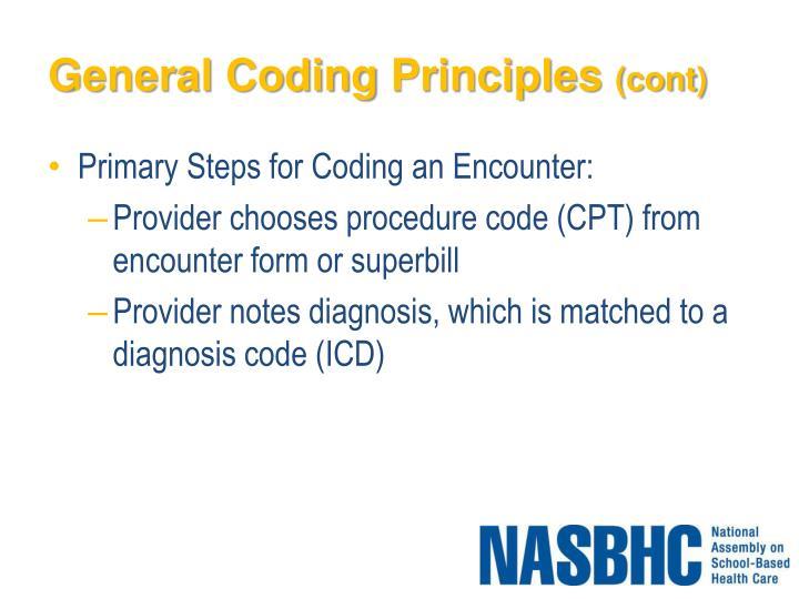General Coding