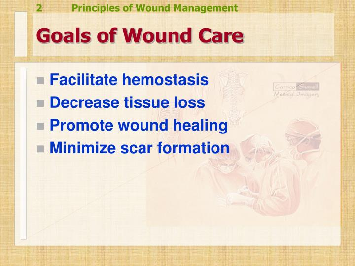 Goals of Wound Care