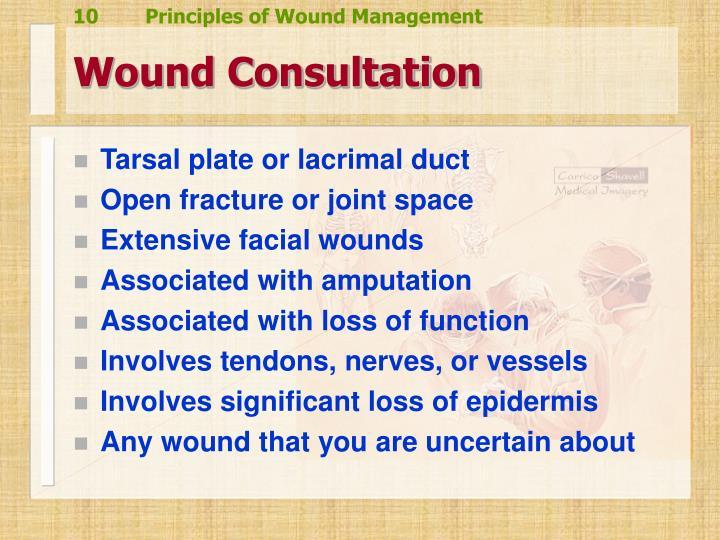 Wound Consultation