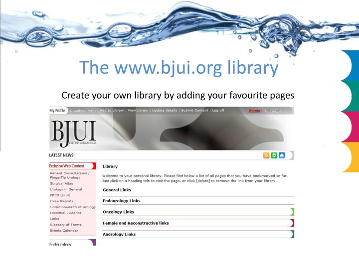 The www.bjui.org library