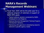 nara s records management webinars7
