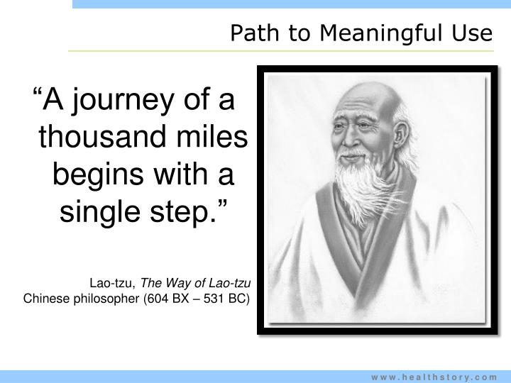 Path to Meaningful Use
