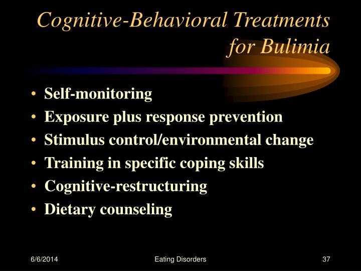 Cognitive-Behavioral Treatments for Bulimia