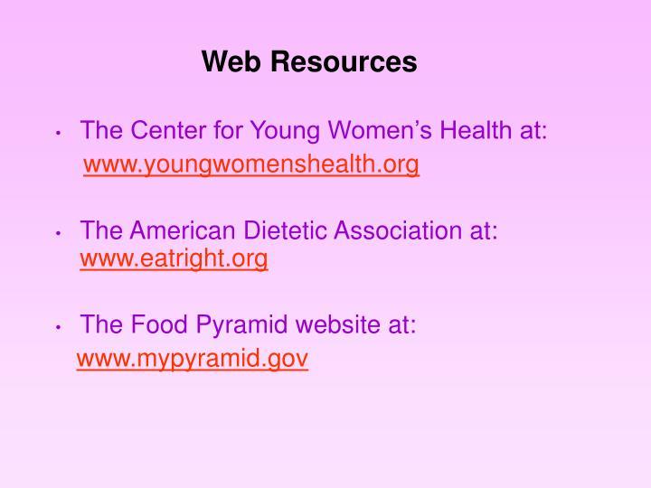 Web Resources