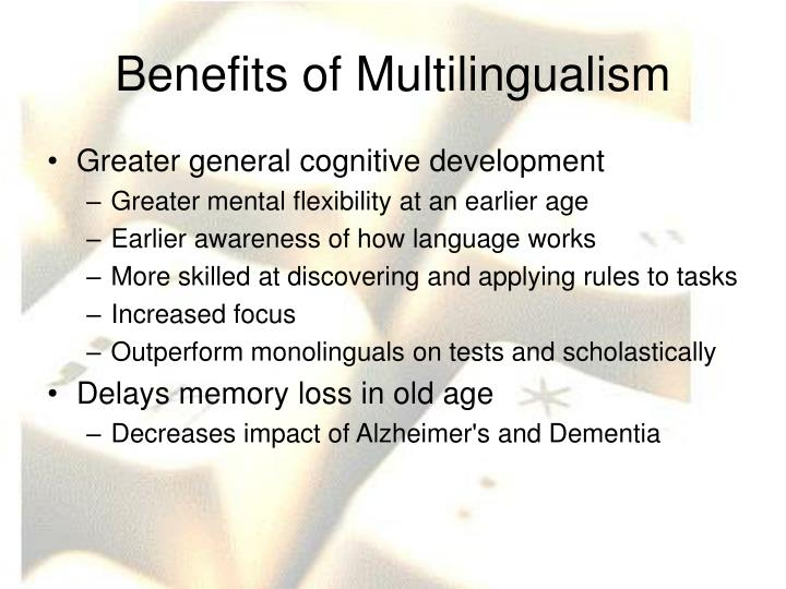 Benefits of Multilingualism
