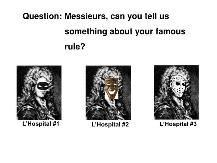 L'Hospital #1