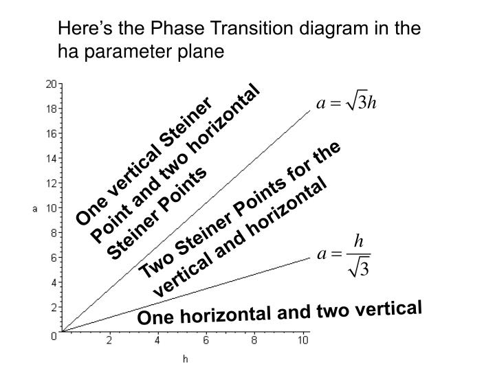 One vertical Steiner Point and two horizontal Steiner Points