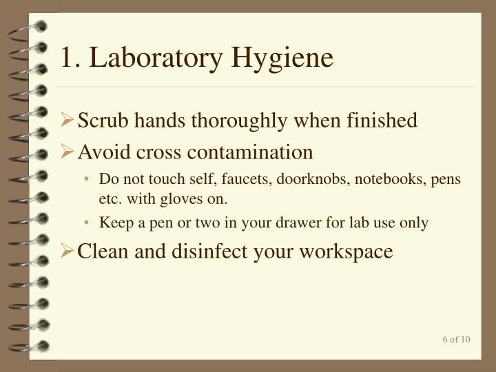 1. Laboratory Hygiene