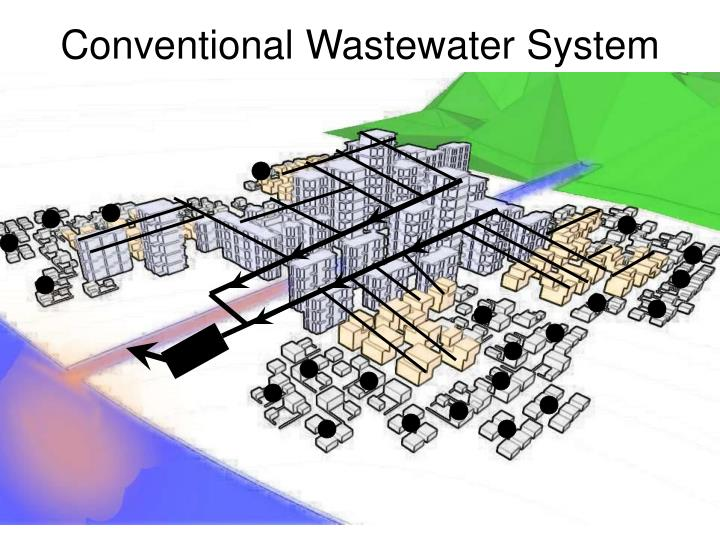 Conventional Wastewater System