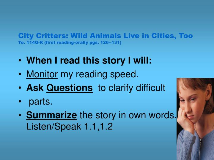 City Critters: Wild Animals Live in Cities, Too