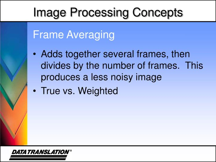 Frame Averaging