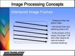 interlaced image frames1