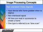 non standard video signals