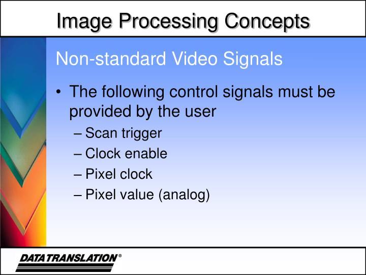 Non-standard Video Signals