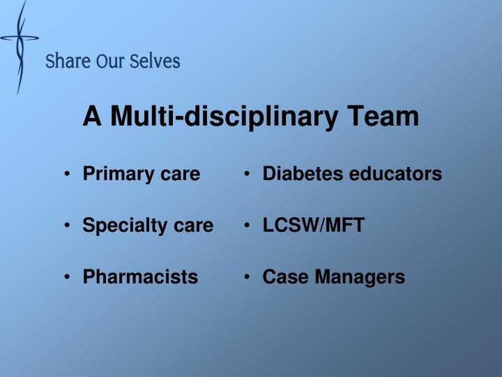 A Multi-disciplinary Team