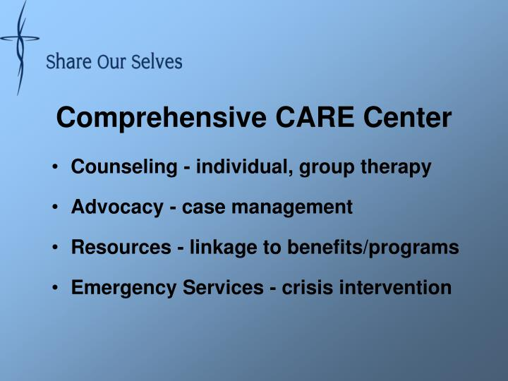 Comprehensive CARE Center