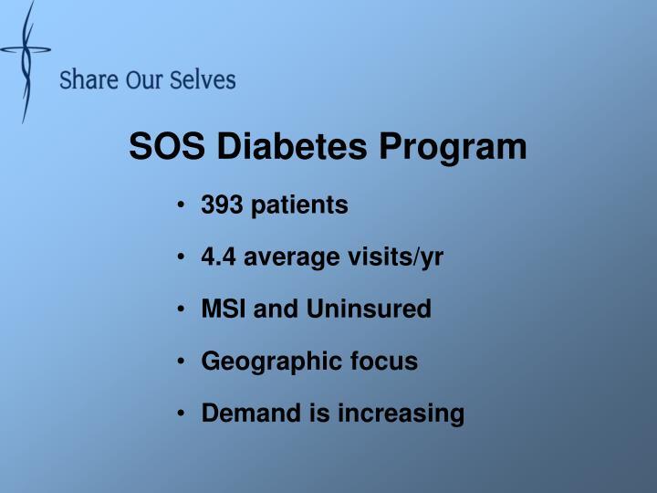 SOS Diabetes Program