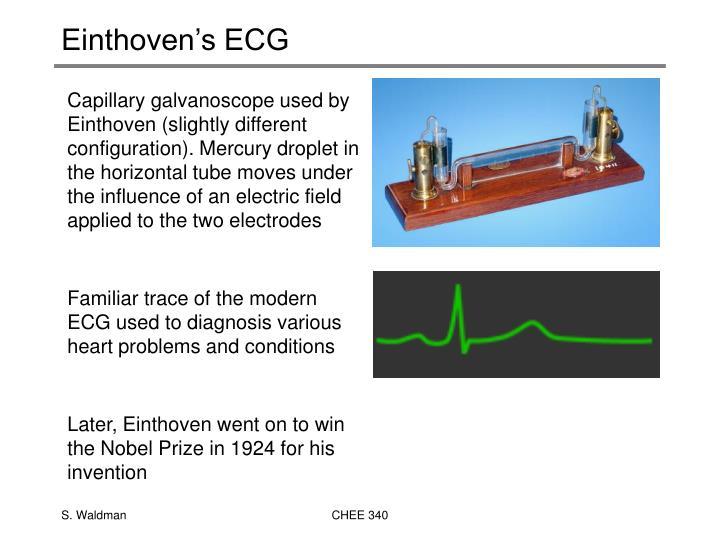 Einthoven's ECG