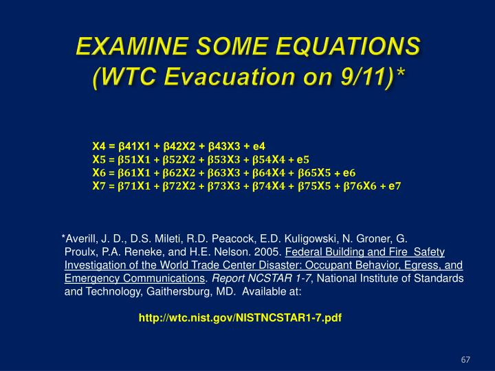 EXAMINE SOME EQUATIONS