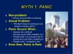 myth 1 panic
