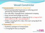 vessel constrictor